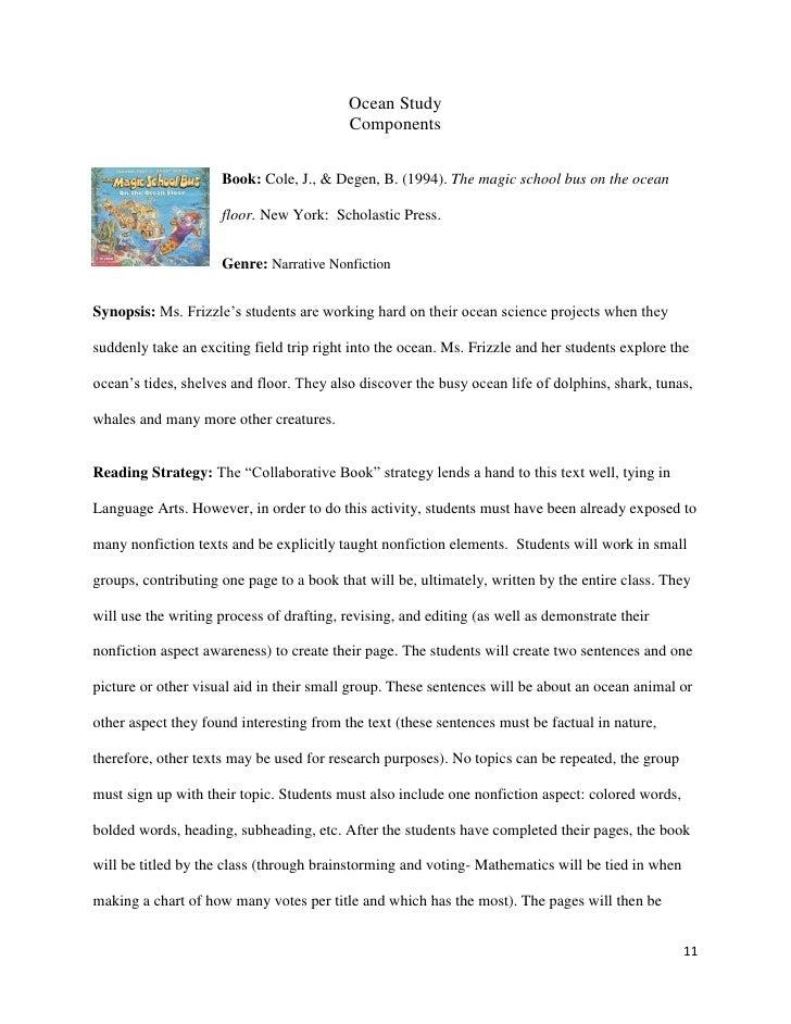 Ocean Study Text Set