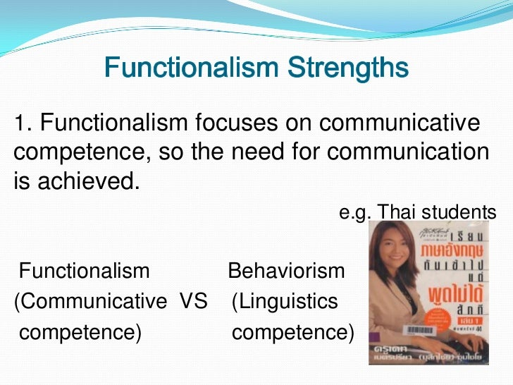 structuralism functionalism and behaviorism What is the difference between structuralism and functionalism both structuralism and functionalism emphasize that elements are interconnected, but the manner.