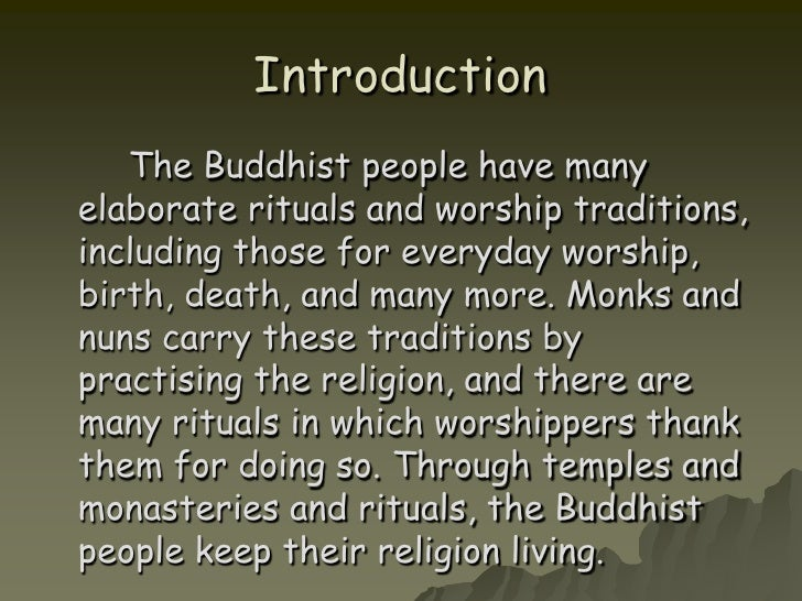 A brief introduction and analysis of buddhism