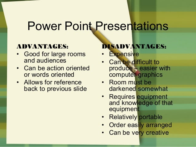 what are the advantages of using powerpoint
