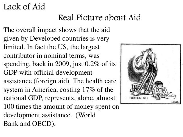 positive impacts of foreign aid in developing countries
