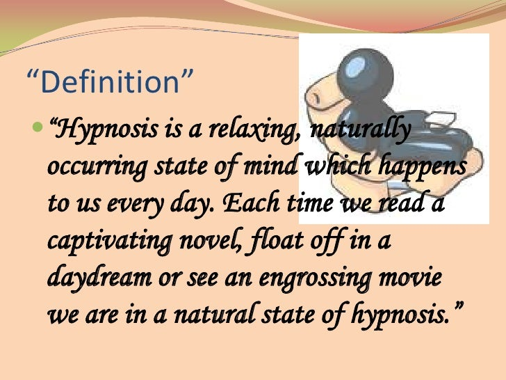 What is hypnosis in psychology?