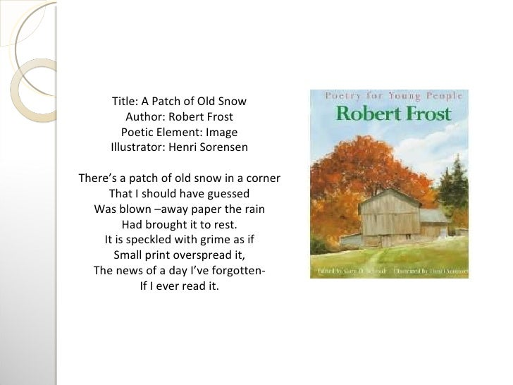 robert frost a personal response Poetry response: stopping by woods on a snowy evening stopping by woods on a snowy evening by robert frost whose woods these are i think i know i chose this poem because it was one of the poems robert frost wrote that i found interesting.