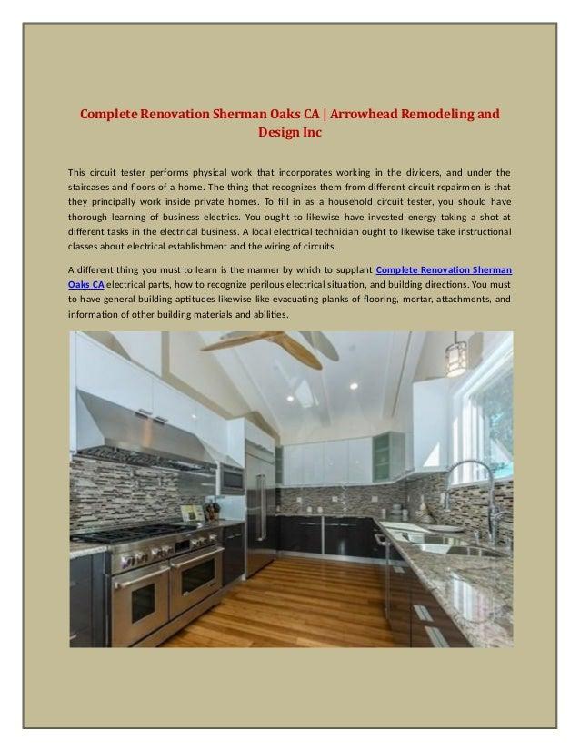 Complete Renovation Sherman Oaks CA Arrowhead Remodeling And Design - Bathroom remodeling sherman oaks