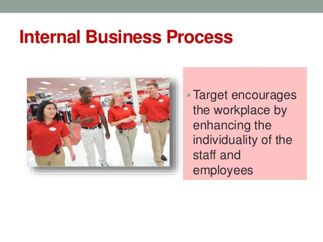 target corporation internal environment Target corporation is a public retailing  • the subsidiaries owned by the target corporation include target  • the appealing environment that is safe and.