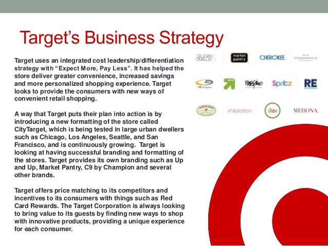 target corporation value chain analysis Target's data breach during the 2013 holiday season shook consumer confidence, while its venture into canada has failed target also appears to have lost sight of its once successful us value proposition, which has been further exacerbated by supply chain issues both in the us and canada.