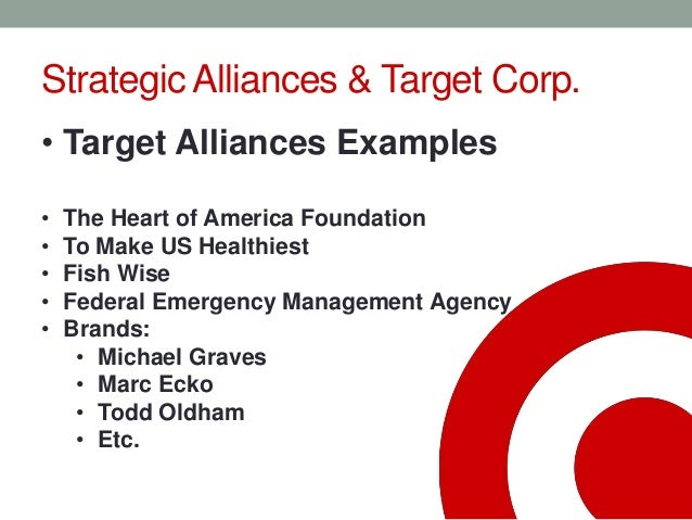 an analysis of target corporation Target corporation - strategy and swot report, is a source of comprehensive company data and information the report covers the company's structure, operation, swot analysis, product and service offerings and corporate actions, providing a.