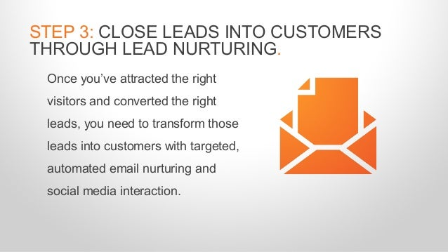 Once you've attracted the right visitors and converted the right leads, you need to transform those leads into customers w...