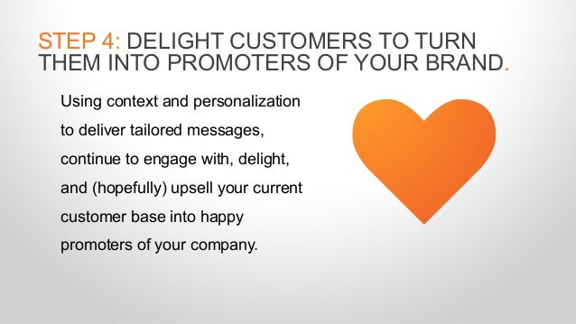 Using context and personalization to deliver tailored messages, continue to engage with, delight, and (hopefully) upsell y...