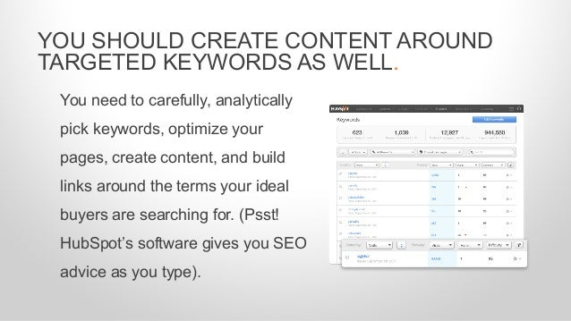 You need to carefully, analytically pick keywords, optimize your pages, create content, and build links around the terms y...