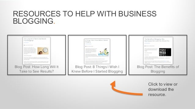 RESOURCES TO HELP WITH BLOGGING EFFICIENCY. Template: Blogging Editorial Calendar How HubSpot Does Inbound: Creating a Con...