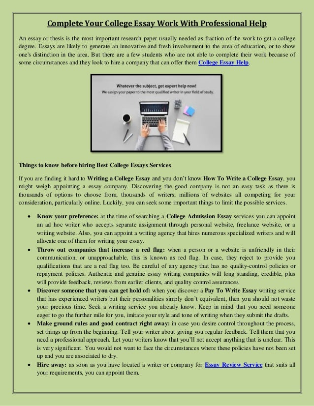 Professional college essay writer website top school college essay help