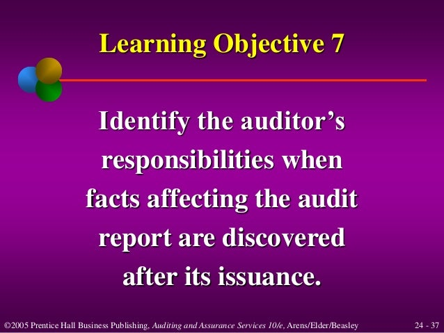 completing the audit In most cases, an audit of a business consists of several steps or phases that are designed to ensure the most accurate, objective and reliable results the process.
