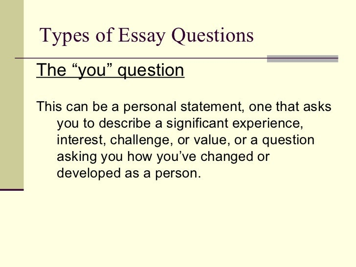 my experience in college essay
