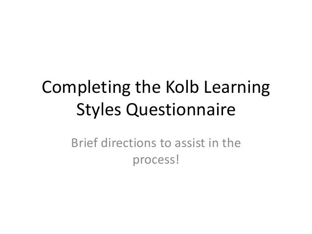 learning styles research articles
