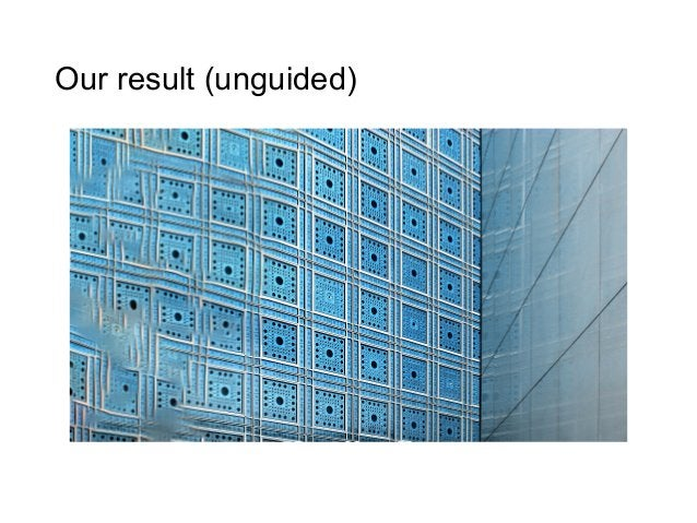 Our result (unguided)
