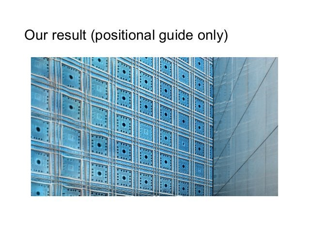 Our result (positional guide only)