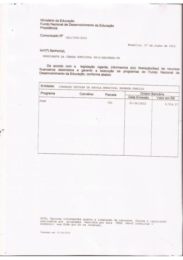 PDDE - Sagrada Família e Eny Ataíde