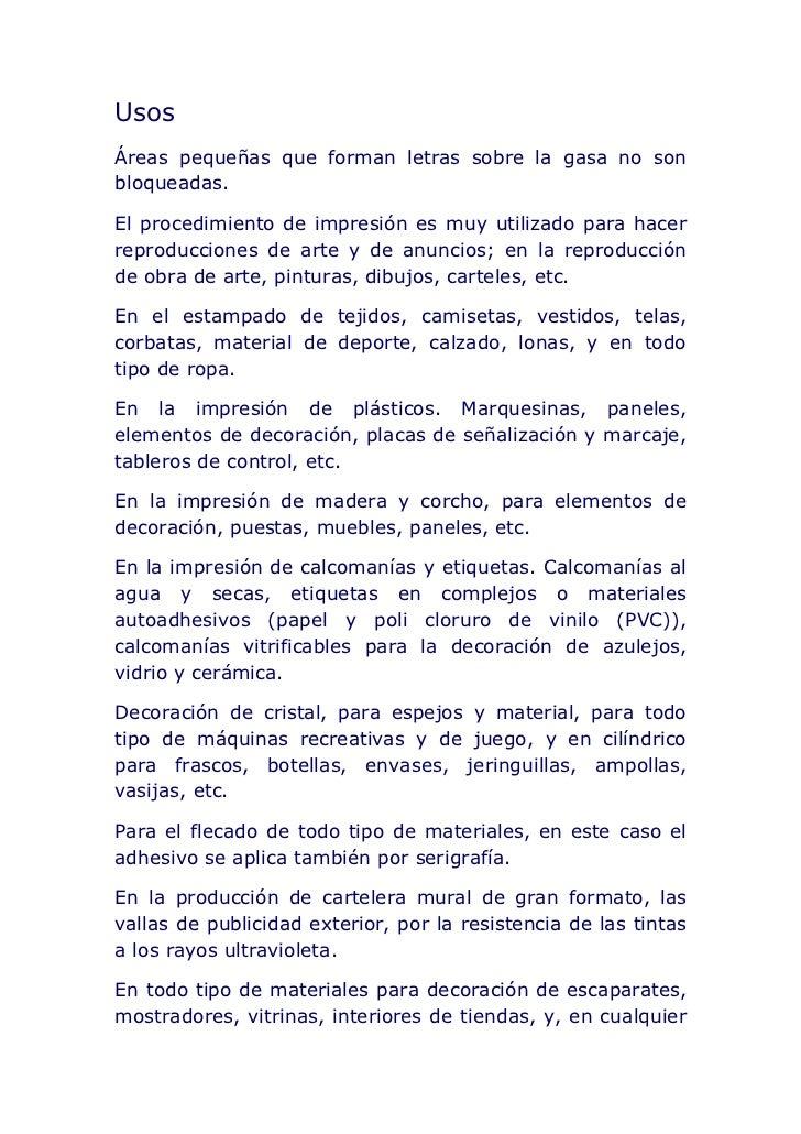 Taller de serigrafia - Letras para serigrafia ...