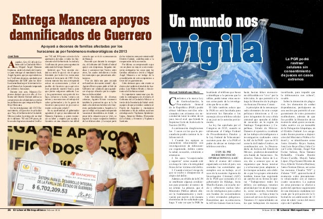 Entrega Mancera apoyos damnificados de Guerrero Apoyará a decenas de familias afectadas por los huracanes as por fenómenos...