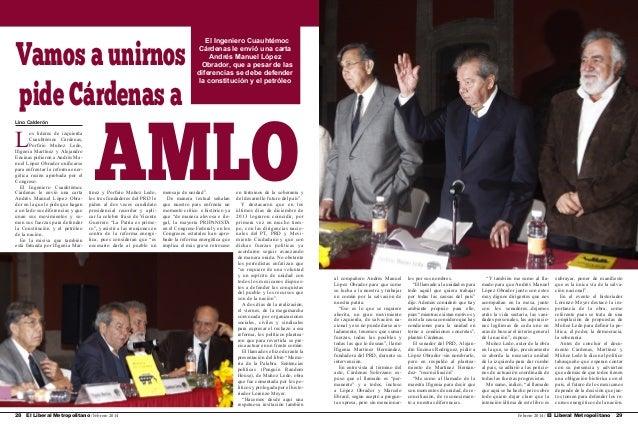 Vamos a unirnos pide Cárdenas a Lino Calderón  L  os líderes de izquierda Cuauhtémoc Cárdenas, Porfirio Muñoz Ledo, Ifigen...