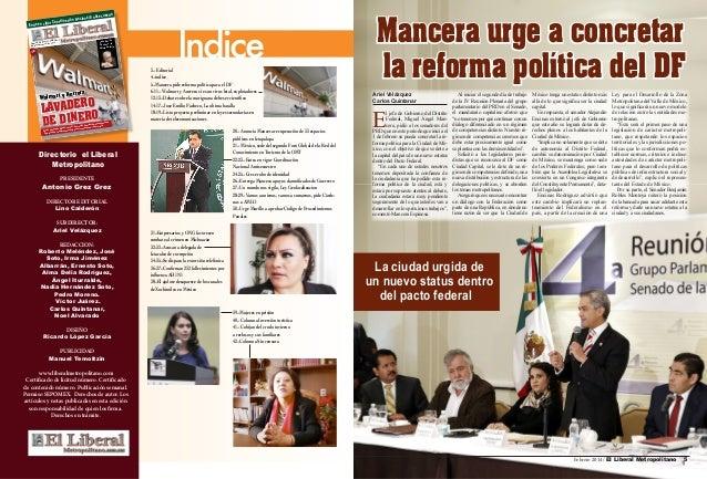 ntisecuestro n Nacional A Coordinació r Entra en vigo 2014/Año 2 Febrero 3, Grez Numero 5. tonio Grez Editor An  José Emil...