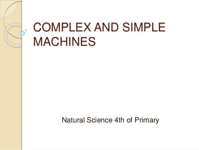 complex simple machine