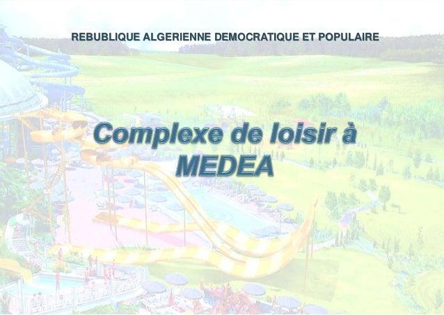 REBUBLIQUE ALGERIENNE DEMOCRATIQUE ET POPULAIRE