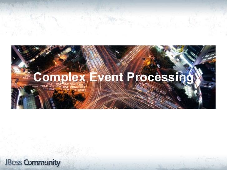 Complex Event Processing with Esper Slide 3