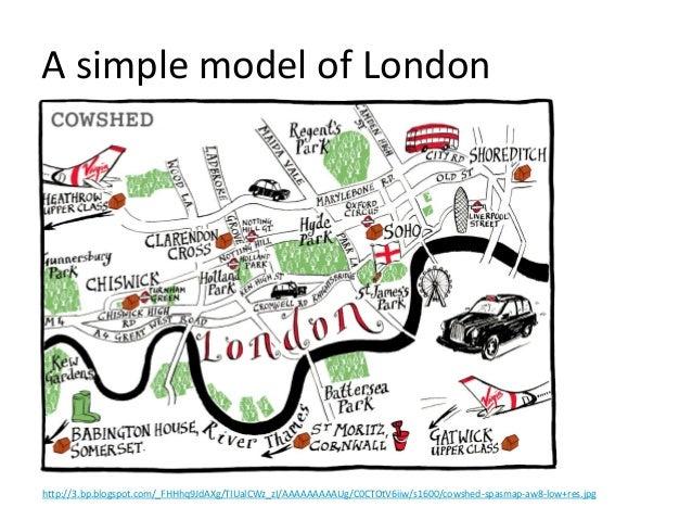 A simple model of London http://3.bp.blogspot.com/_FHHhq9JdAXg/TIUalCWz_zI/AAAAAAAAAUg/C0CTOtV6iiw/s1600/cowshed-spasmap-a...