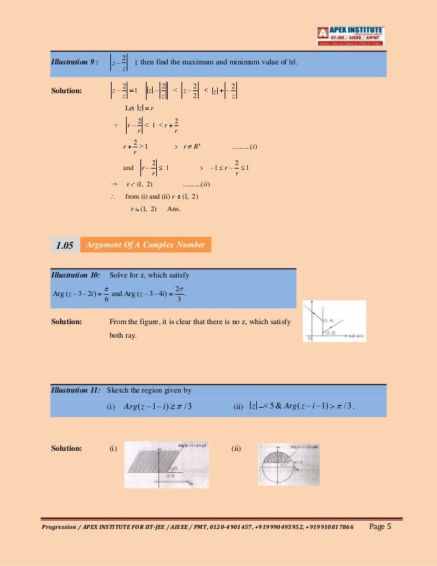 complex number and ans Notes for signals and systems table of contents 0  notions of complex numbers extend to notions of complex-valued functions (of a real variable) in.