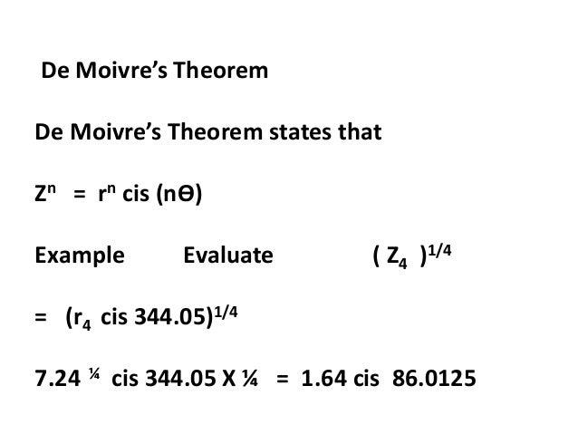 Complex Numbers Mathmatics N4