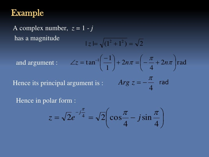 complex numbers and applications advanced engineering Complex numbers shorten the equations used in dsp, and enable techniques   many scientists and engineers regard complex techniques as the dividing line.