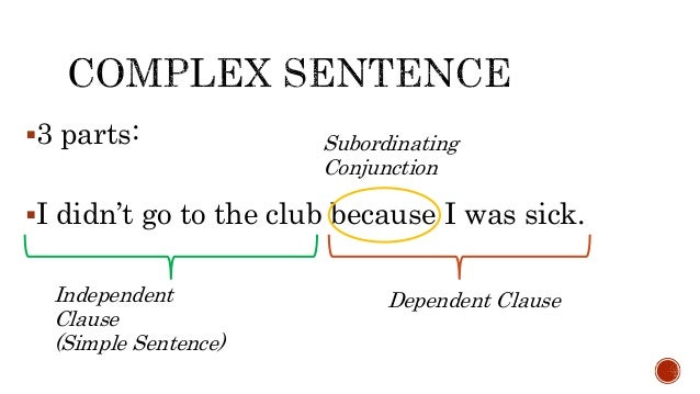When do you use commas in complex sentences