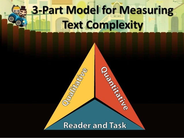 3-Part Model for Measuring Text Complexity