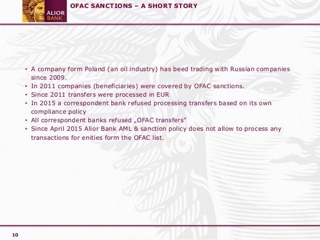 Compliance and Sanctions - Joanna Grynfelder - Bank Alior