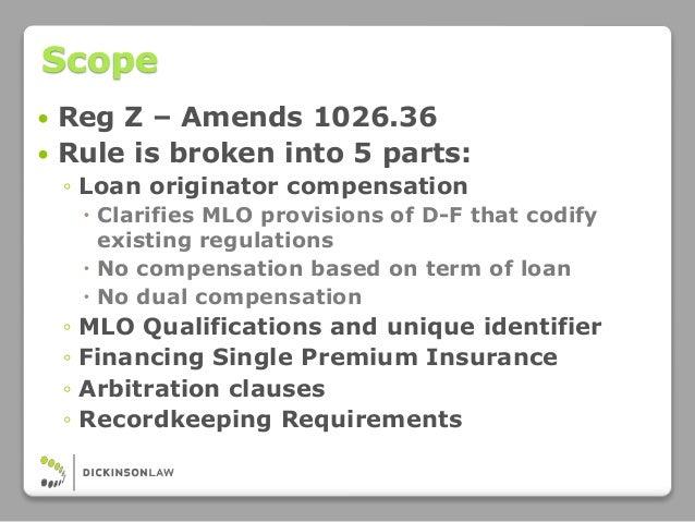Loan Originator Definition Reg Z