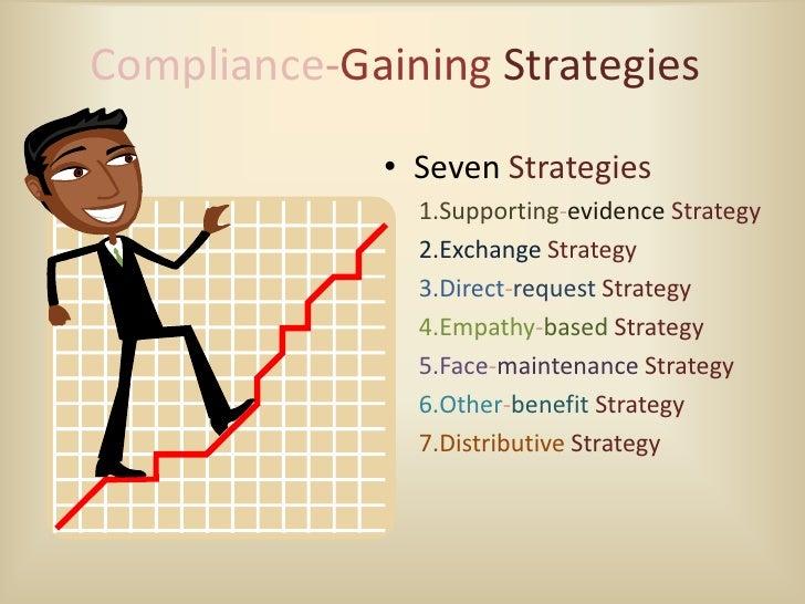compliance gaining strategies