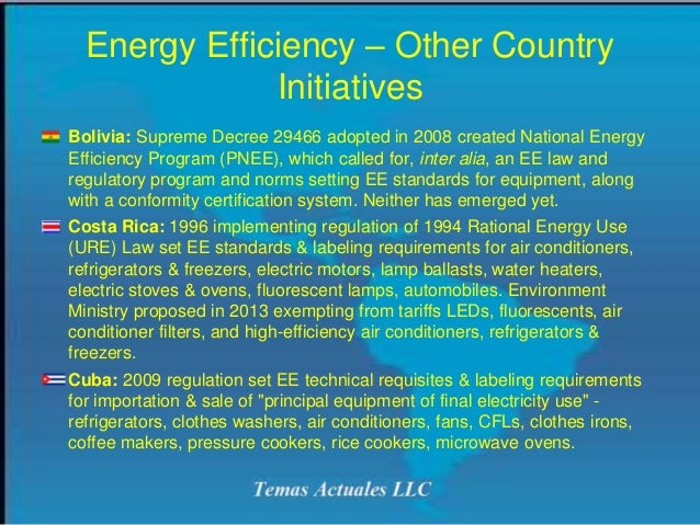 Weee Rohs And Energy Efficiency In Latin America 2016