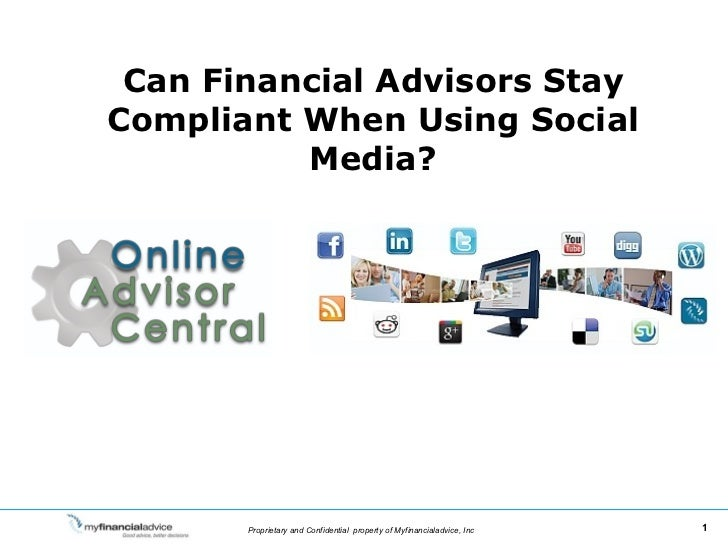 Can Financial Advisors Stay Compliant When Using Social Media?
