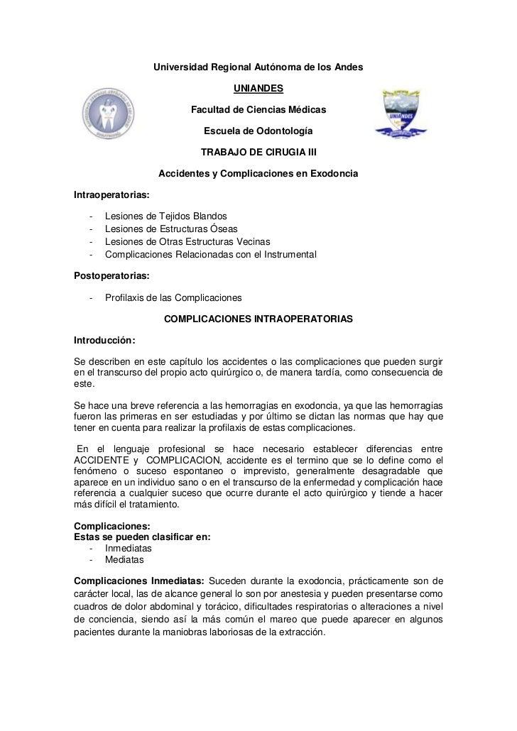 Universidad Regional Autónoma de los Andes<br />4387215838204381574295UNIANDES<br />Facultad de Ciencias Médicas<br />Escu...