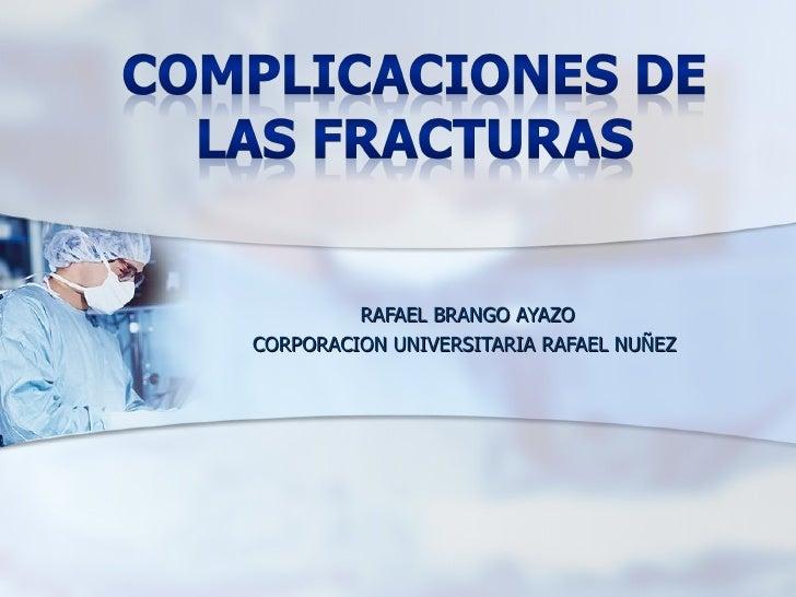 RAFAEL BRANGO AYAZOCORPORACION UNIVERSITARIA RAFAEL NUÑEZ