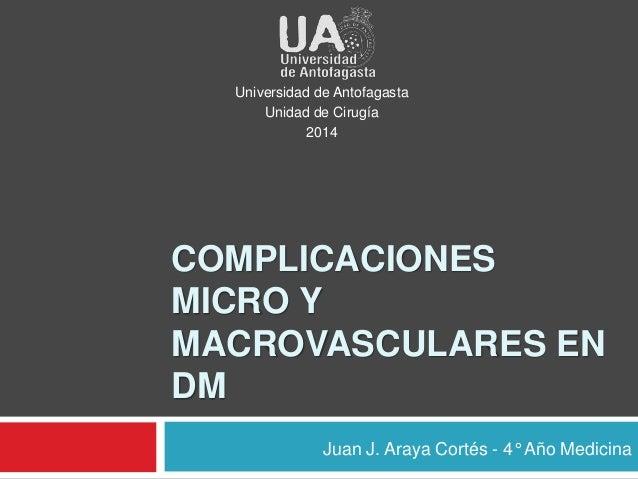 microcirculación en diabetes mellitus