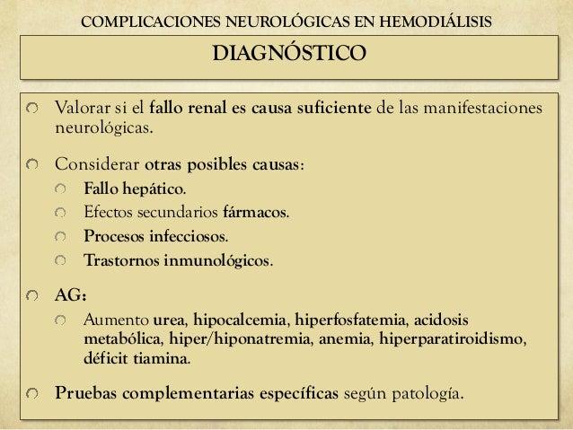 Complicaciones de la Hemodialisis cu les son y prevenci n