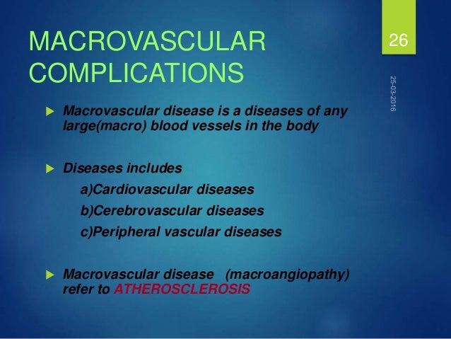 macrovascular complications of type 2 diabetes pdf