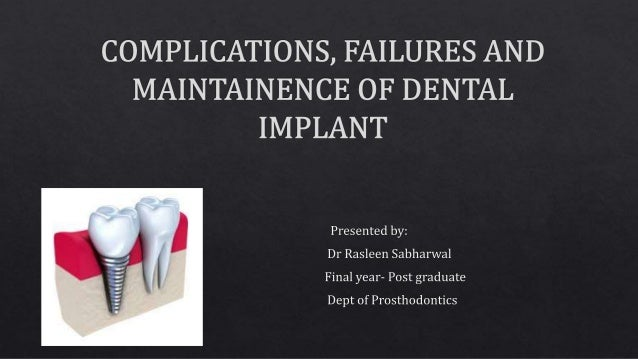 Biological factors contributing to failures of osseointegrated oral implants: success criteria. Eur J Oral Sci 1998; 106: ...