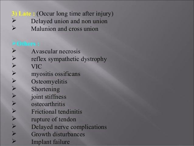 complications of fractures 3 pptnew