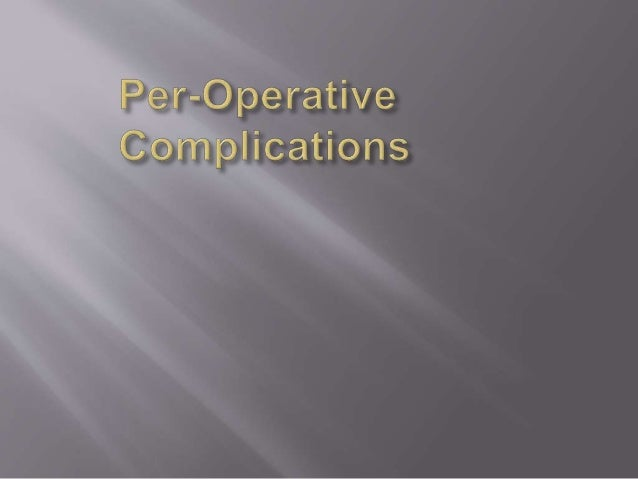 Complications of TAPP Slide 3