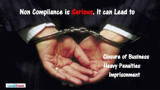 CompliCheck - The Compliance Management Solution Slide 3
