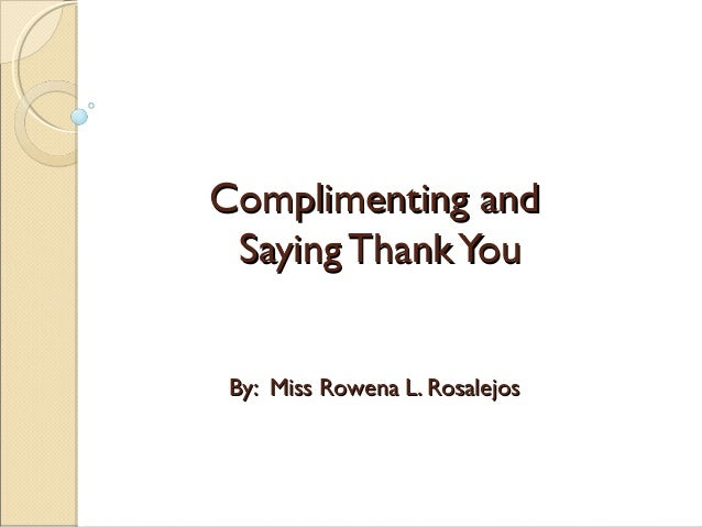 How to compliment a couple